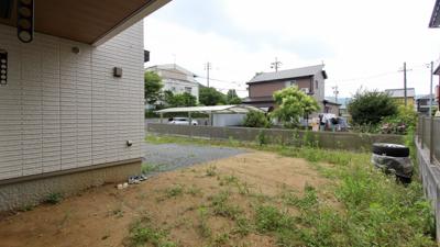お庭リフォーム施工前です