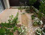 緑と風を感じながらご家族で楽しく創る庭スペース・・・豊川市N様邸