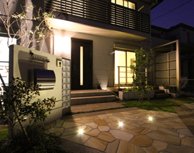 〜Greenで飾る お庭と駐車場のbalance technique〜・・・豊橋市 M様邸