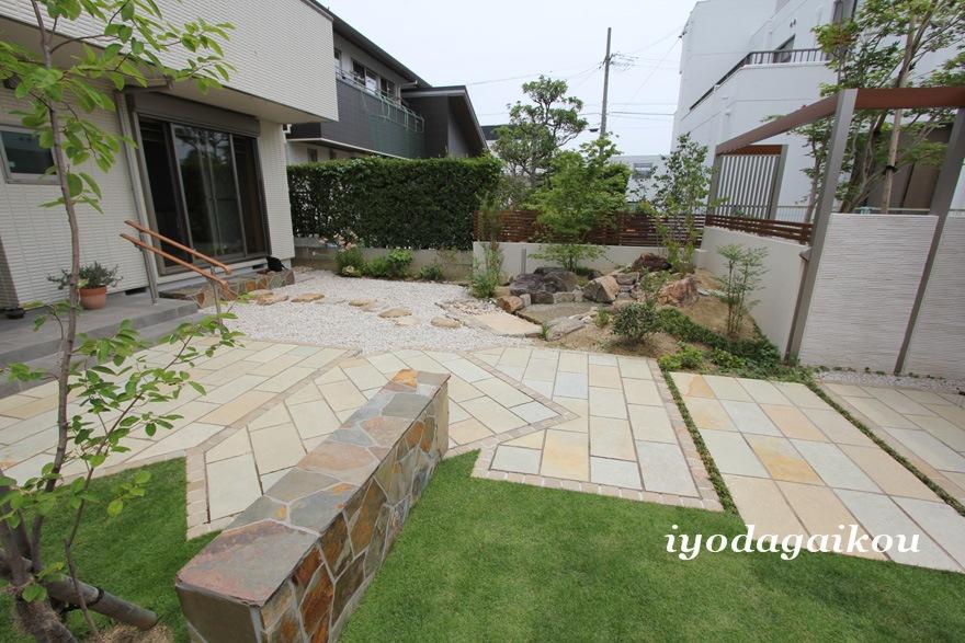お庭の緑が 空間にやすらぎと心地よさをプラス