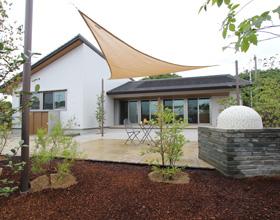 〜落ち着きある彩りのお庭 石釜・石畳で添える平屋Design・・・豊橋市I様邸