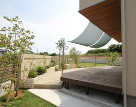 〜素敵なお庭を眺めよう アウターシェードnatural garden!!・・・田原市T様邸