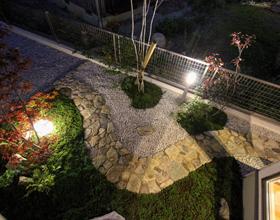 〜坪庭のある暮らし 緑で囲む優しいClose Stlye Exterior・・・豊橋市Y様邸